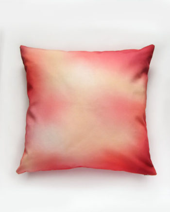 Ombre Red Pillow
